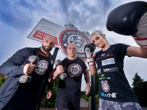 Katie Healy has been doing her strength and conditioning work at Iron Masters Gym in Bilston. She is being trained by Santino and Carlo Sellick