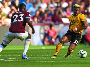 Adama Traore leaves West Ham's Issa Diop for dead at the London Stadium last weekend