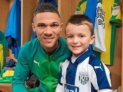 West Brom players organise surprise after joy at young Declan's Christmas cards