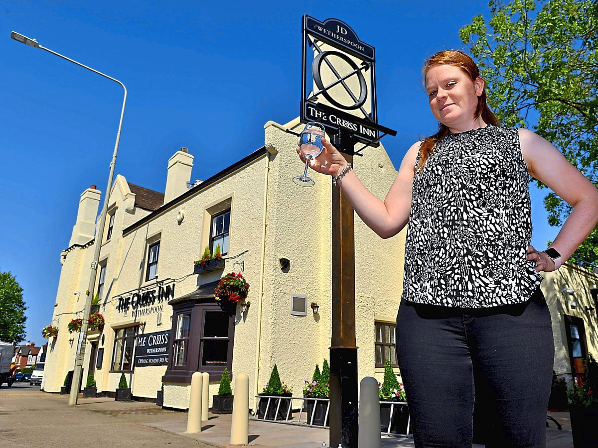The Cross Inn, in Kingswinford, will be opening its doors for the first time during the pandemic