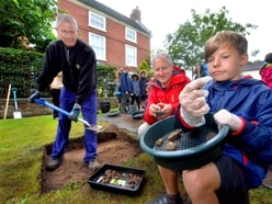 Possible remains of earlier building found in archaeological dig at Albrighton - in pictures