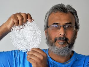 Jagdish Bhutta, 53, from Wolverhampton, ordered a four-man tent online but received a lace doily instead