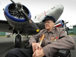 Second World War veterans reunite at Wolverhampton airfield - in video and pictures