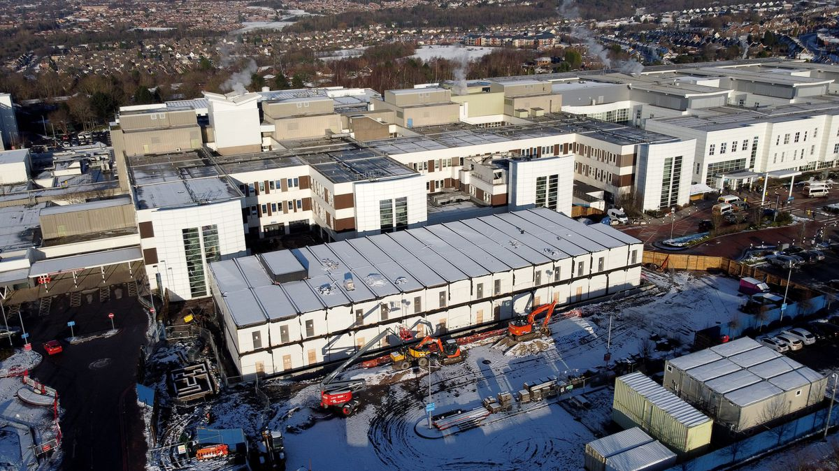 A new acute medical unit is already being built at Russells Hall