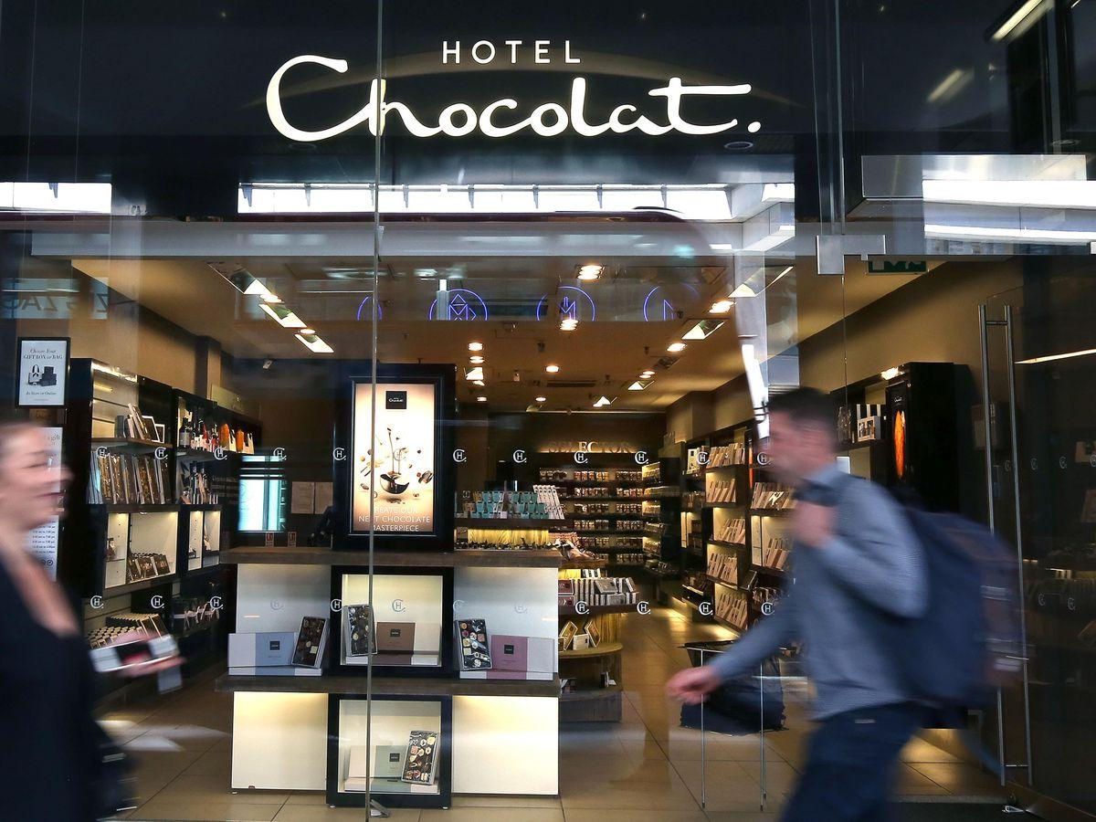 A Hotel Chocolat store