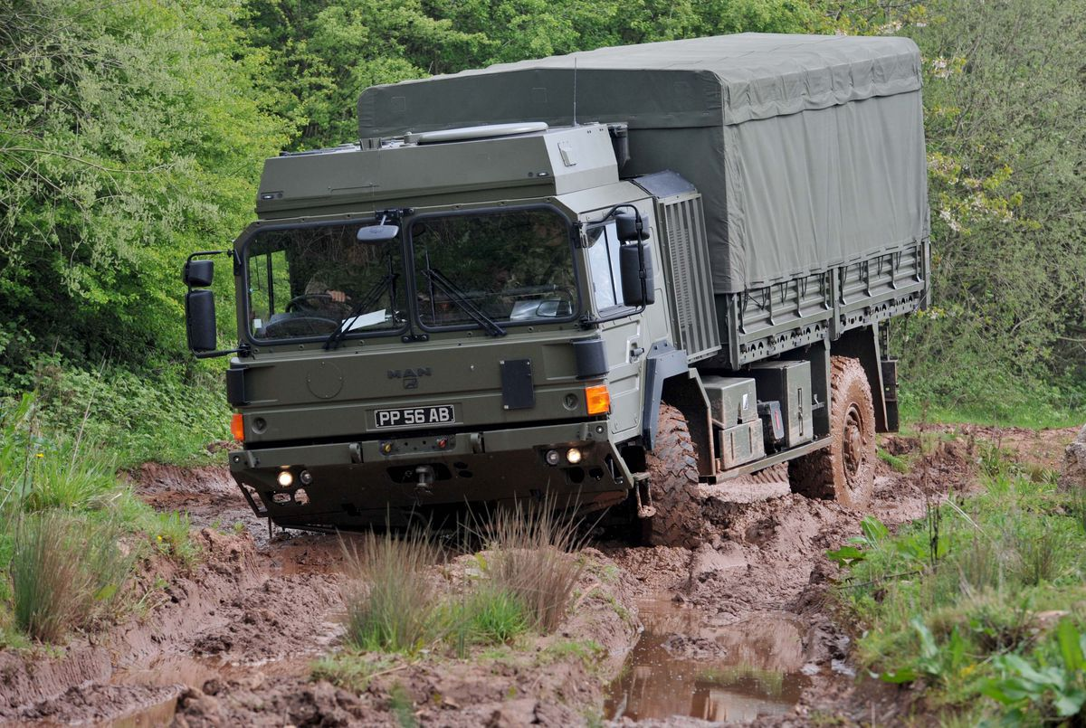 4th Battalion The Mercian Regiment trains at the camp