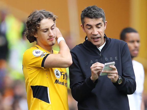 Bruno Lage and Fabio Silva (Getty)