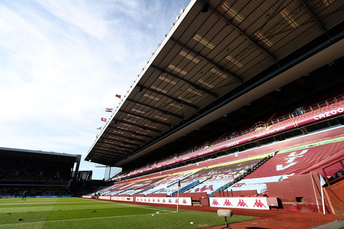 The Doug Ellis stand at Aston Villa. Picture: AMA.