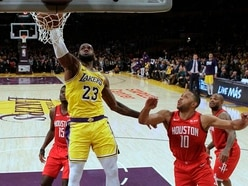 LeBron James launches Lakers comeback over Rockets