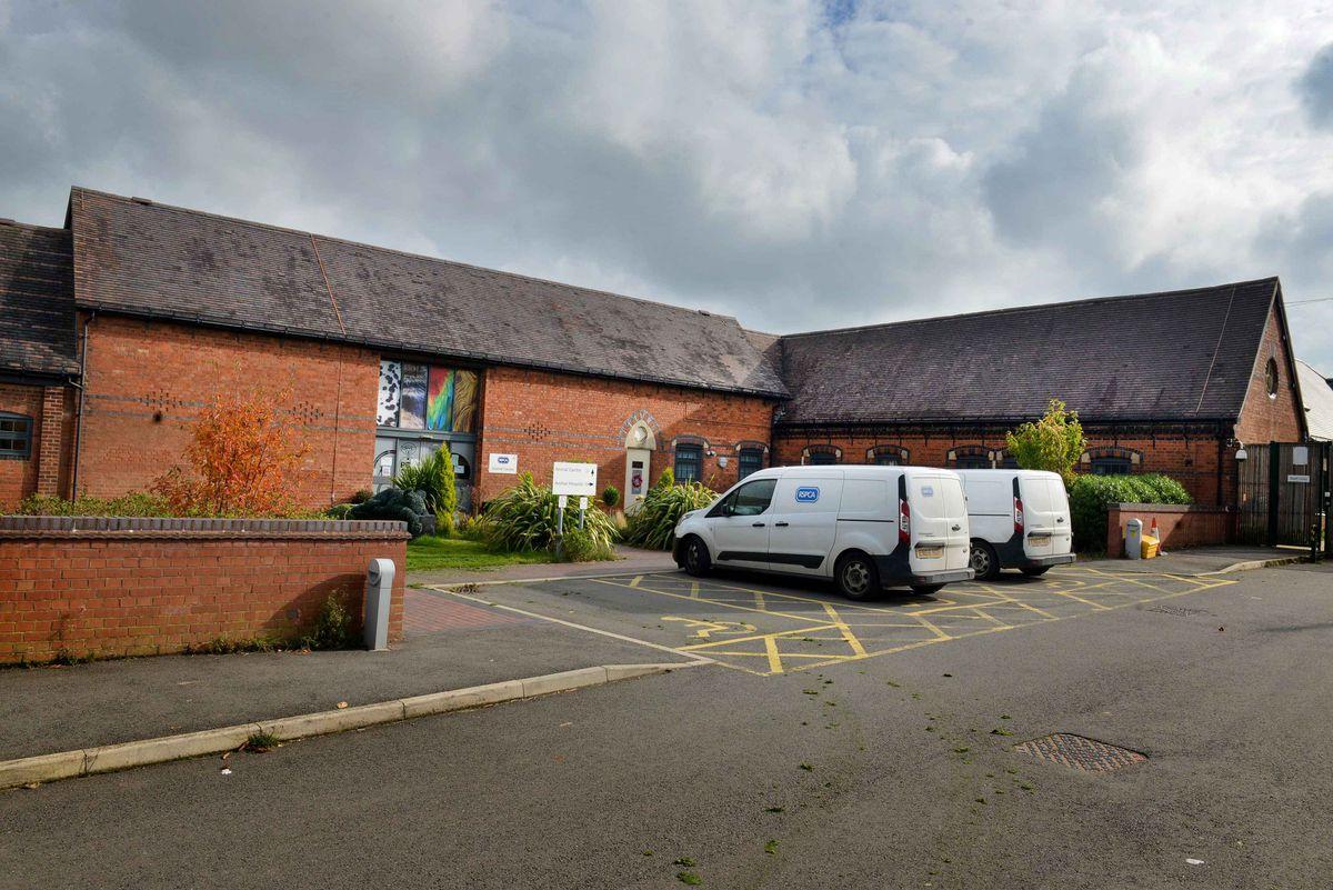 The animal centre, at Frankley Green, Birmingham, near Halesowen