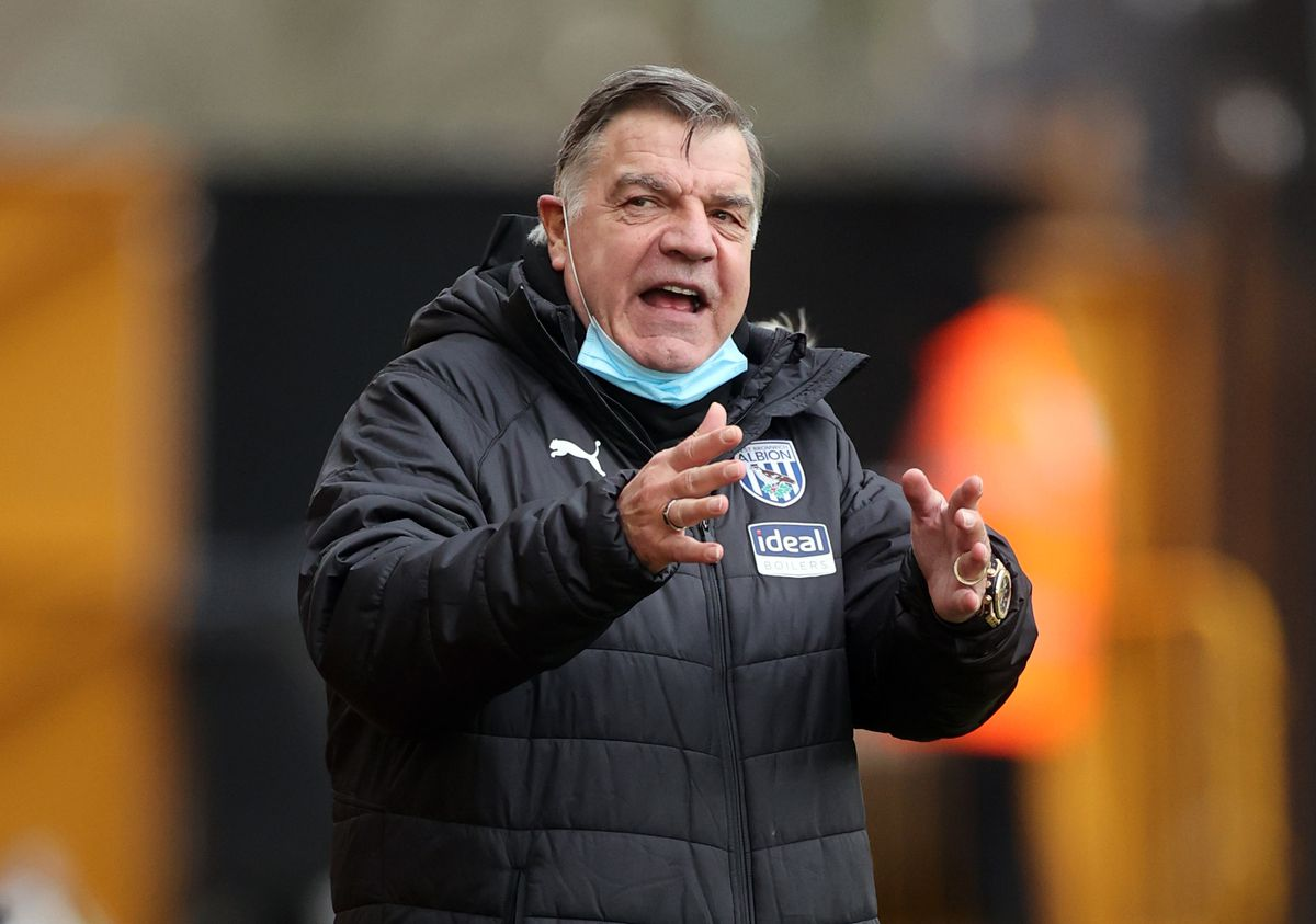 West Bromwich Albion manager Sam Allardyce.