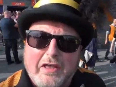 Party Time! Wolves fans celebrate as Nuno's men crowned champions at Bolton - WATCH