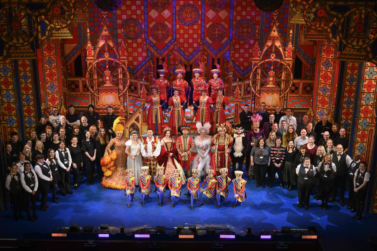 The full cast and crew of Wolverhampton Grand's pantomime 2019