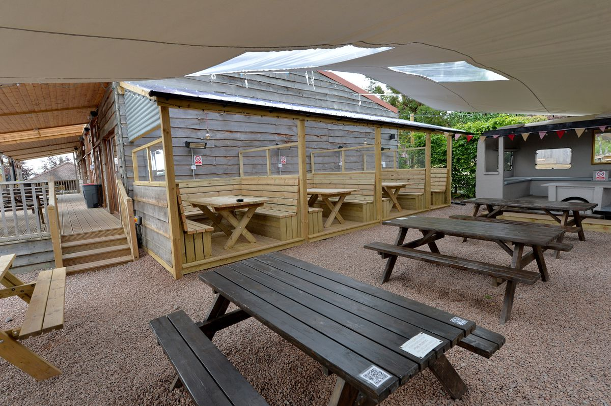 The Rustic is a cafe and bar and a favourite location for many at the site