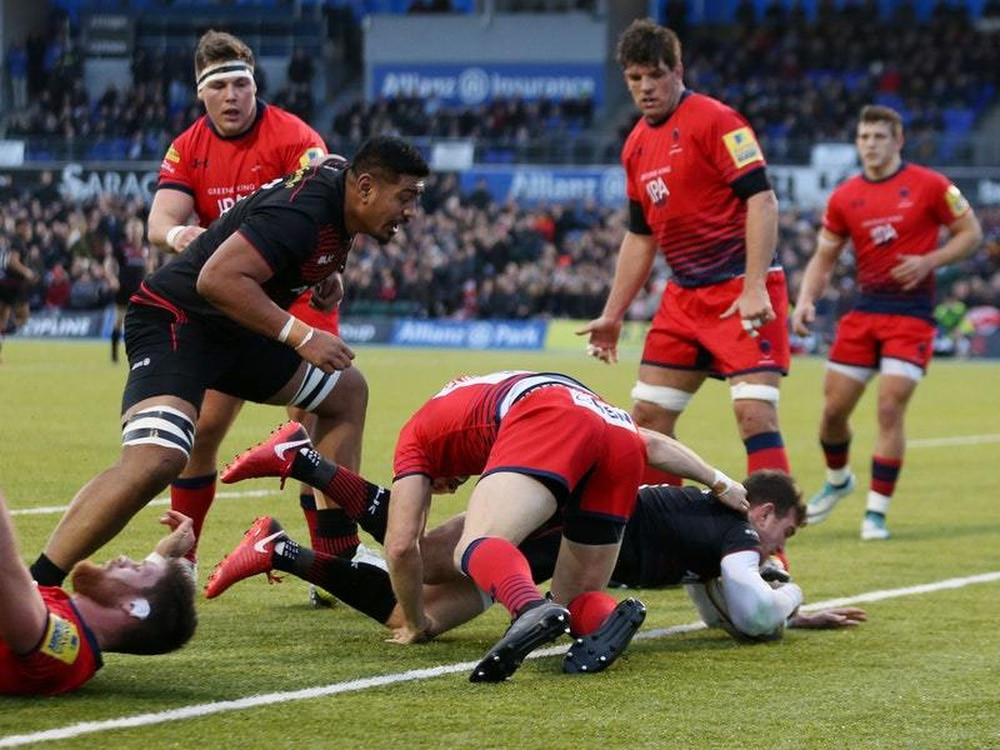 Saracens return to winning ways with six-try victory over ...