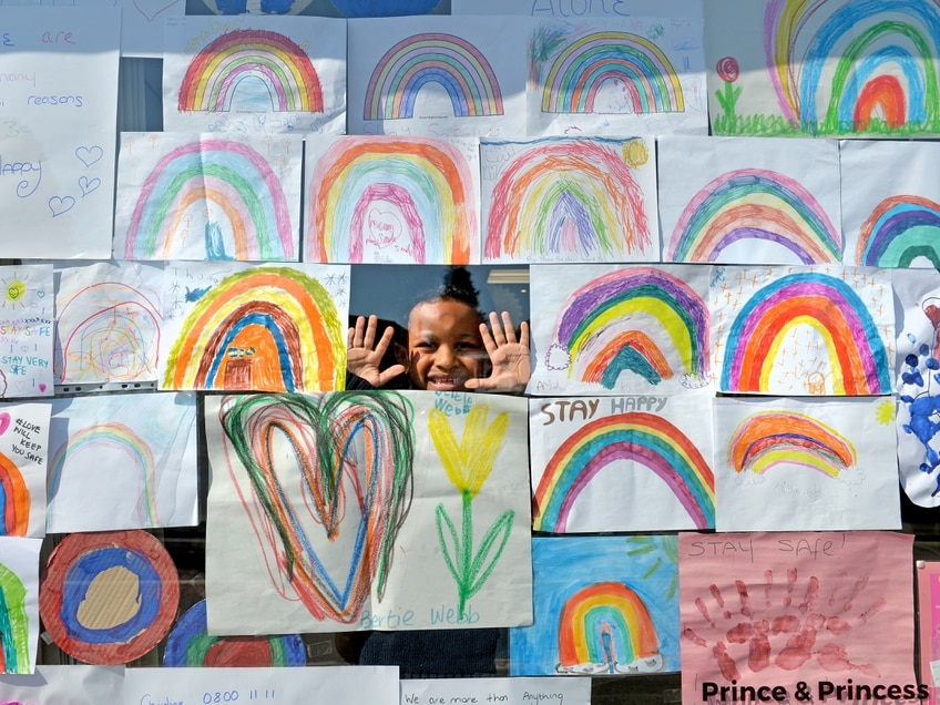 GALLERY: Rainbow drawings spread cheer across Black Country and Staffordshire