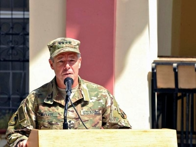 Nato commander unhurt as guards mow down Afghan security chiefs