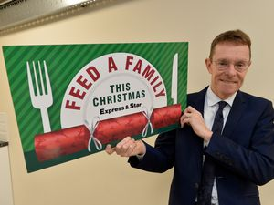 West Midlands Mayor Andy Street is backing our Feed a Family campaign