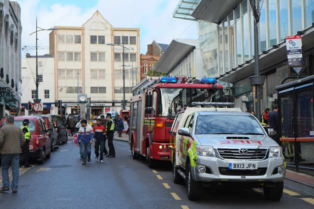 Mander Centre Evacuated After Wolverhampton Fire Express