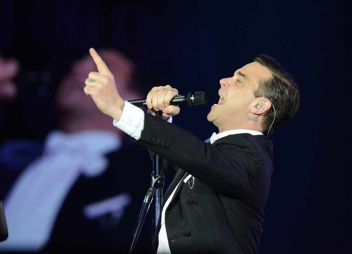 Robbie Williams - one of the best selling solo artists of all time