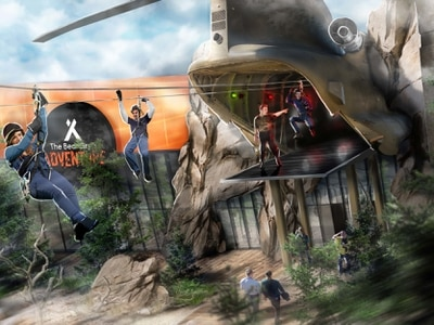 Bear Grylls seeks 'adrenaline advisers' to try out his new attraction at Birmingham NEC