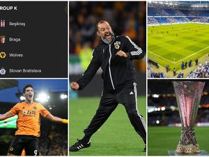 Wolves are in the Europa League group stage (pics of Nuno and Raul Jimenez © AMA)