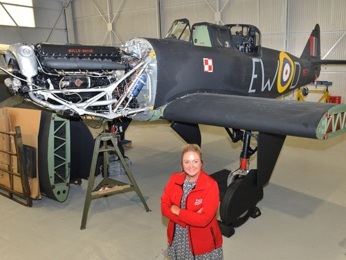 World War II fighter plane on display at RAF Cosford - in pictures
