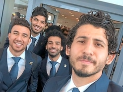 West Brom's Egyptian pair touch down in Russia for World Cup