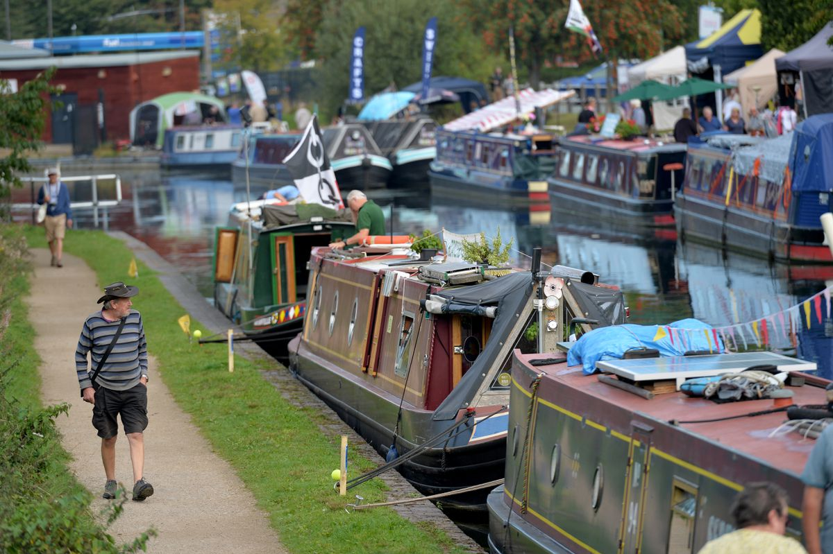 The return of the Brownhills Canal Festival