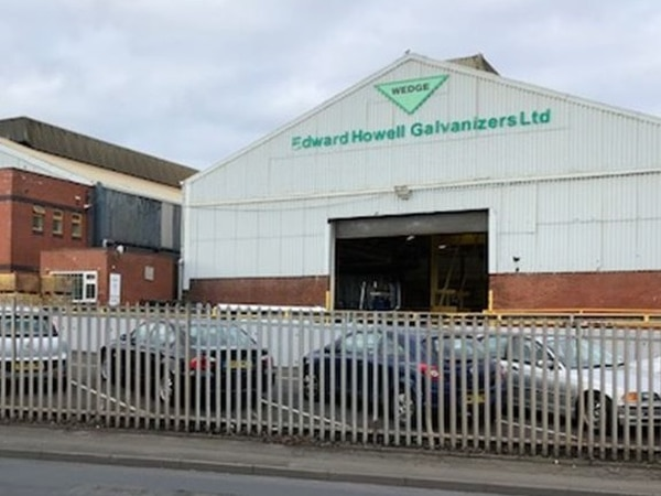 Golden day for Wednesfield plant