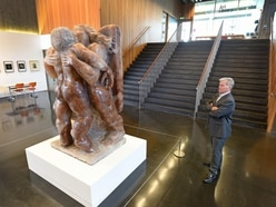Iconic Epstein sculpture goes on display at Walsall gallery