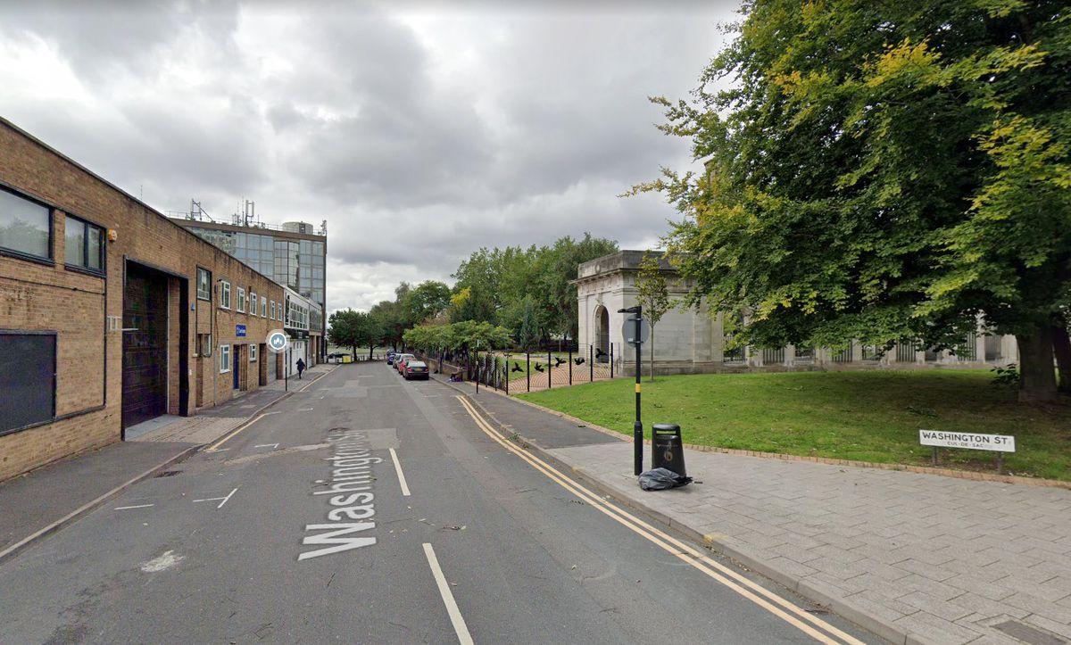 Washington Street in Birmingham city centre. Pic: Google