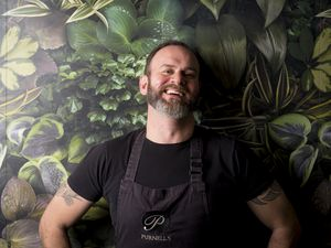 Glynn Purnell loves being in the Midlands and has now written about his life and love for fine food
