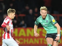 Cameron Norman putting in hard yards at Walsall