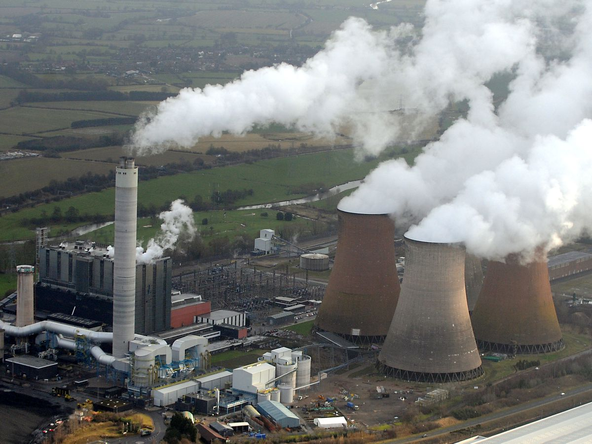 Coal-fired Rugeley Power Station closed down in 2016