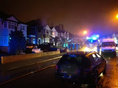 Couple return home to find house ravaged by fire in Wolverhampton