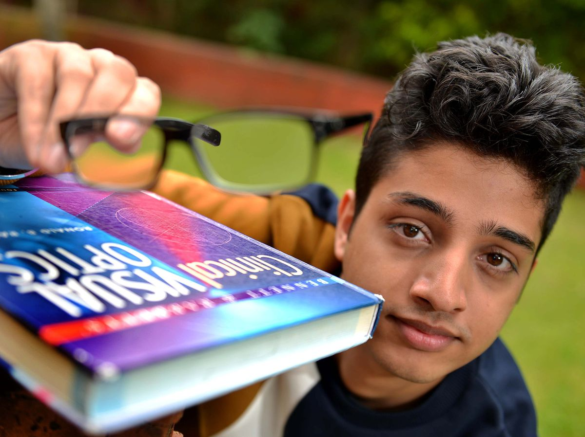 Inderpal Ghuman, aged 20, is training to be an optometrist