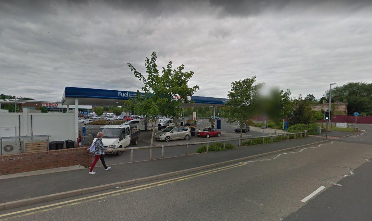 Tesco Petrol Station, in Severn Road, Stourport. Photo: Google Maps
