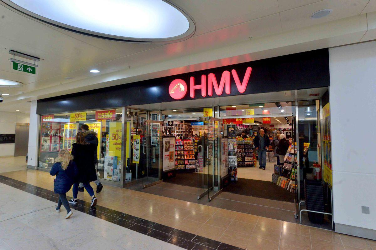 HMV in Wolverhampton