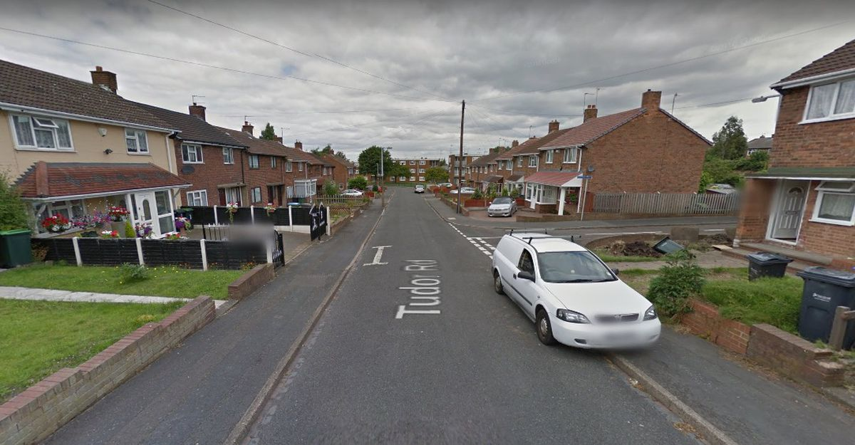 Tudor Road, in Oldbury. Photo: Google Maps