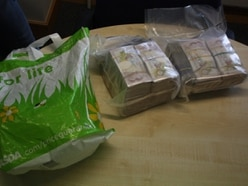 Money launderer avoids jail after being caught with more than £100k stuffed into a bag