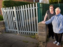 Alleyway closed after drug addicts threw needles into gardens