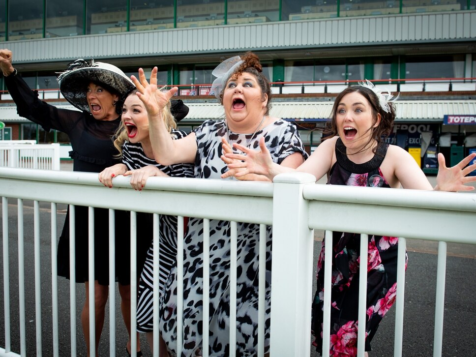 Eastenders actress Cheryl Fergison and music legend Tony Christie among stars in new Wolverhampton play Ladies' Day - in video