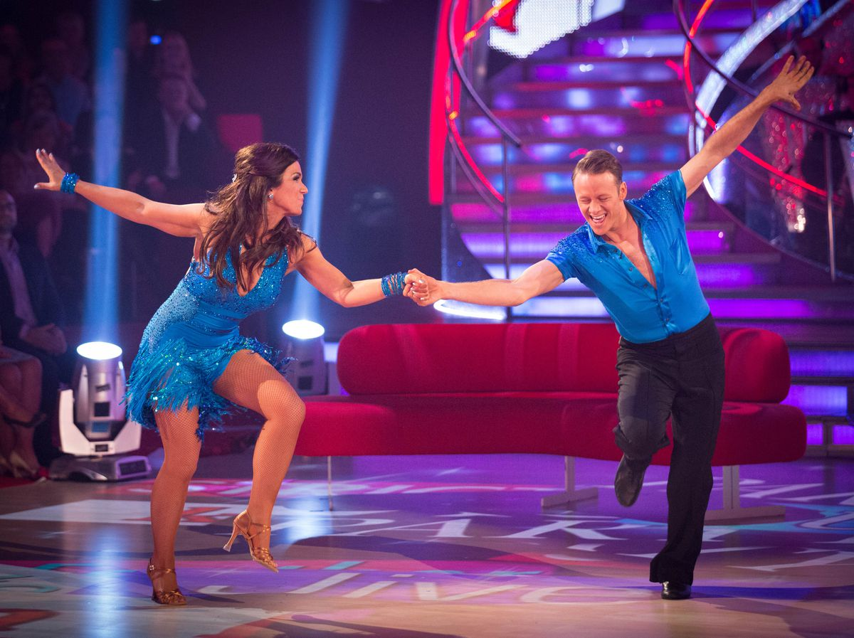 Kevin Clifton, right, will be performing with his sister in the first show back at the Grand