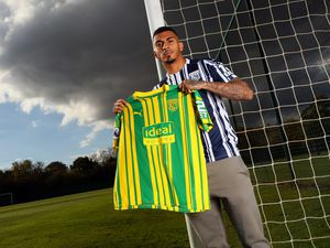 Karlan Grant new signing for West Bromwich Albion. (AMA)
