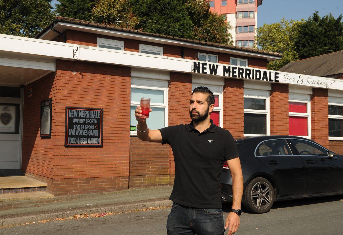 Owner Bobby Basran, at the New Merridale, Wolverhampton