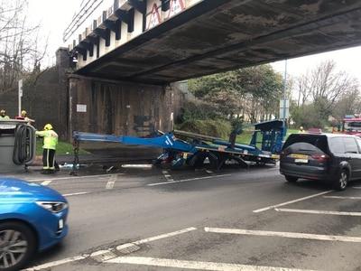 Lorry crash in Tipton causes traffic delays