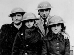 Dramatic home front photos show life of a family at war