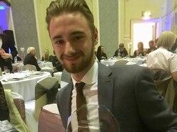 Owen Richards presented with community award
