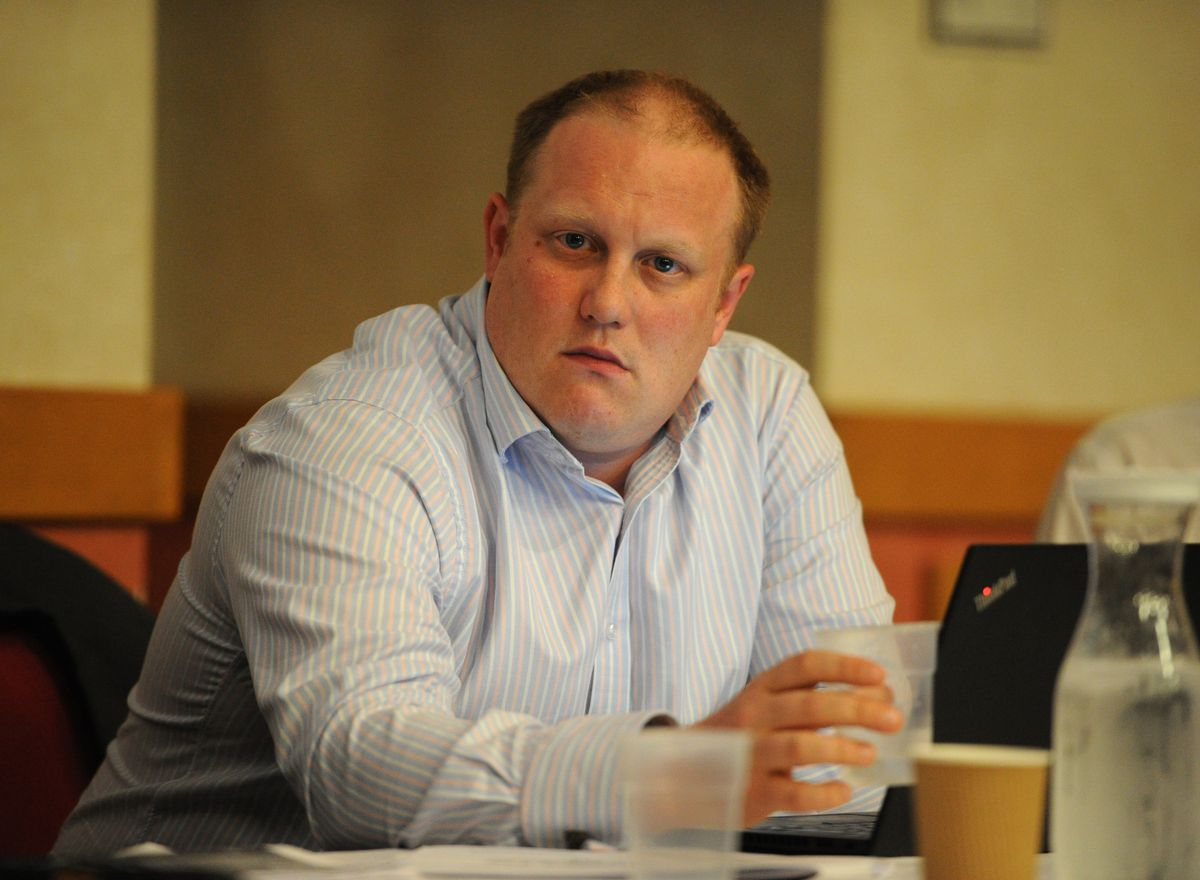 Wolverhampton Council's head of business services, Colin Parr, was questioned over the sites which were considered for the transit site